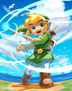 The Legend of Zelda | Wind Waker | Toon-Link Wind