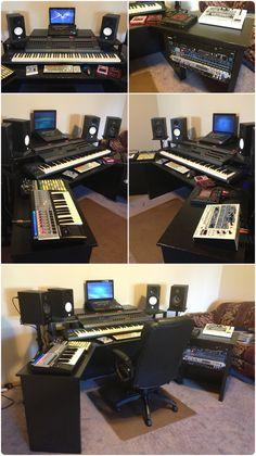 Building a Controllerist Studio part 1: The Desk   Controllerism.com