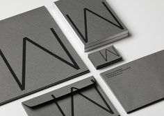 Waldemarson Arkitekter by The Studio. #branding #architecture #design