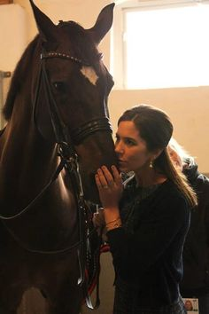 Crown Princess Mary in Germany shows her love for horses 6/25/2013
