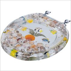 tropical fish toilet seat. Seashell Toilet Seat  Seats American Standard Tropical Fish Toilets Cl Ranch Home Decor Bathrooms toilet seat cover MY Creations Pinterest