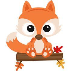 Fall Fox SVG scrapbook cut file cute clipart files for silhouette cricut pazzles free svgs free svg cuts cute cut files Woodland Theme, Woodland Party, Woodland Creatures, Woodland Animals, Baby Animals, Cute Animals, Fall Clip Art, Cute Clipart, Doodles