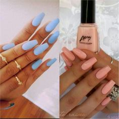 love these colors & style of nails