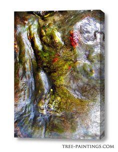 """""""Tree horse"""" canvas"""
