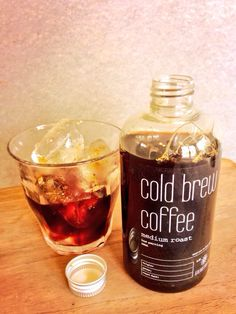 Grindsmith Cold Brew coffee, 12 hour filter process using a Yama Cold drip tower- 4 x the caffeine content! All bottled up and ready to go ;-)