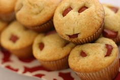 Corn dog muffins. This is definitely a kid friendly meal!