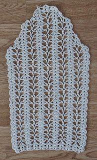 Crochet Easter Bunny Garland F Filet Crochet, Irish Crochet, Diy Crochet, Crochet Stitches, Crochet Top, Crochet Shorts Pattern, Crochet Blouse, Crochet Patterns, Crochet Decrease