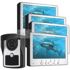 289.33$  Buy now - http://aliq6o.shopchina.info/go.php?t=32790123805 - DIYSECUR 7 inch Wired Video Door Phone Doorbell Video Intercom Waterproof Outdoor IR Night Vision Camera Home Security System 289.33$ #aliexpress