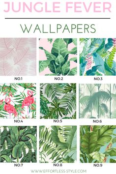 Oil Painting Emerald Green Tropical Plants with Leaves Wal Palm Leaf Wallpaper, Of Wallpaper, Designer Wallpaper, Tropical Wallpaper, Interior Wallpaper, Wallpaper Ideas, Bathroom Red, Bathroom Wallpaper, Downstairs Bathroom
