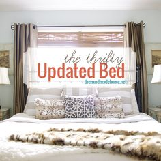 the thrifty updated bed