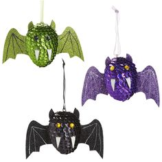 Sequin Bat Ornaments - Pier1 US