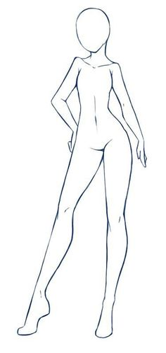 Ideas for clothes drawing tutorial pose reference Body Sketches, Art Drawings Sketches, Images Of Drawings, Drawings Of Girls, Body Template, Drawing Body Poses, Drawing Templates, Art Poses, Drawing Reference Poses