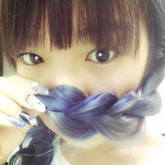 ちなちゃん @chinatsu09 髪の毛染めたよー...Instagram photo   Websta (Webstagram)