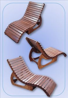 Stained birch plywood lounger shaped to fit a reclining form/figure Outdoor Furniture, Outdoor Decor, Plywood, Sun Lounger, Recliner, Birch, Fit, Home Decor, Hardwood Plywood
