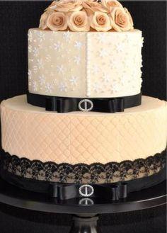 Elegant Chanel Inspired Cake