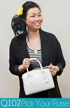 Coach - Leather Mini Bennett Satchel. Go to wkrq.com to find out how to play Q102's Pick Your Purse!