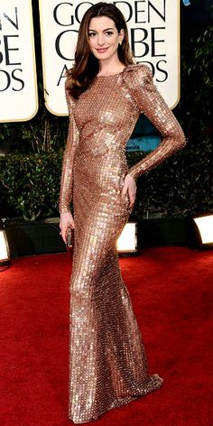 Maybe sequins can be pulled off... Anne Hathaway - Star Finder Gallery - Celebrity - InStyle