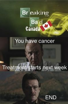 Breaking Bad in Canada . Browse new photos about Breaking Bad in Canada . Most Awesome Funny Photos Everyday! Because it's fun! Funny Commercials, Funny Jokes, Silly Memes, Funny Minion, Dad Jokes, Funny Pranks, Best Funny Pictures, Funny Photos, Bizarre Pictures