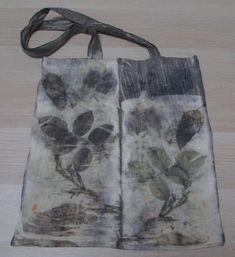 Sac coton - Eco-print Fil de lune www.fildelune.com