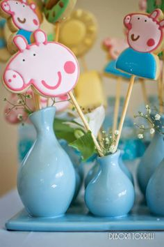 Festa Peppa Pig Delicada