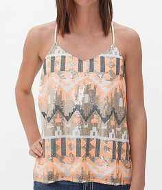 Daytrip Chiffon Tank Top. Want this shirt!!!!!