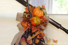 RowHouse Events and Interiors: Fall Swag DIY