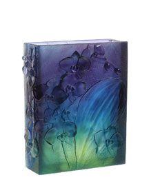 """Daum """"Orchid"""" Vase"""