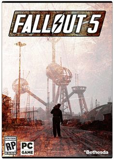Some random fan made this Fallout 5 concept cover Fallout, Cover Art, Card Games, Xbox, Videogames, Nintendo, Gaming, Cosplay, Concept
