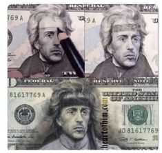 Andrew Jackson or Rambo? Best Funny Pictures, Funny Images, Funny Photos, Memes Humor, Funny Jokes, Hilarious, Funny Gifs, First Blood, Andrew Jackson