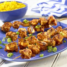 Spice up the new year with smoky-spicy chipotle peppers and tangy-sweet tamarind nectar in this Tamarind Chicken recipe!
