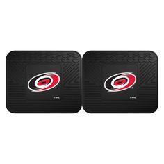 Fan Mats NHL Hockey Backseat Car Utility Mat - Set of 2 - 12410