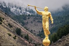 Star Valley, Wyoming temple Angel Moroni