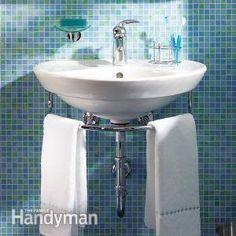 Installing a Bathroom Sink: Wall-Hung Sink | The Family Handyman