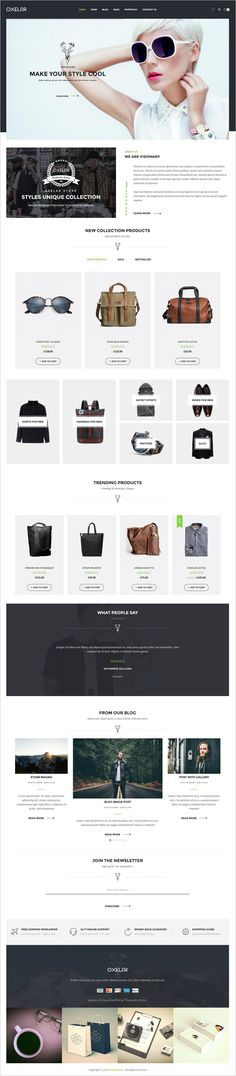 Oxelar is a modern design responsive #WooCommerce #WordPress #theme for stunning #eCommerce website with 6 unique homepage layouts download now➩ https://themeforest.net/item/oxelar-fashion-responsive-wordpress-theme/17563729?ref=Datasata