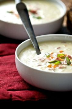 Creamy Ham and Rice Soup