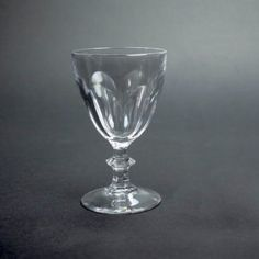Vintage Cristal D'Arques-Durand Rambouillet 4 oz Crystal Wine Glass, Extra glass, replacement wine glass