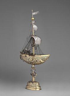 Ship (Nef) Esias zur Linden (master 1609, died 1632) Date: ca. 1609–20 Culture: German, Nuremberg