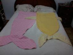 Cobertor de sofá, Rabo de peixe e sereia