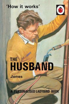 Show details for Classic Ladybird 'How it Works' Style Book - The Husband