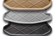 (64.67$)  Watch more here - http://ai671.worlditems.win/all/product.php?id=32756841458 - high quality Rubber Foam Trunk Tray Liner Cargo Mat Floor Protector foot pad mats for VW Volkswagen Tiguan 2013 2014(3colors)