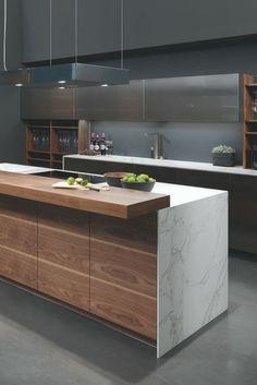 Kochinsel Kücheninsel M Kitchen Room Design, Home Decor Kitchen, Interior Design Kitchen, Kitchen Ideas, Interior Modern, Apartment Kitchen, Kitchen Layout, Kitchen Inspiration, Kitchen Designs