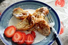 """Indulgent """"Fre-gan"""" Vegan French toast recipe - give yourself some extra love today! Peaceful Dumpling"""
