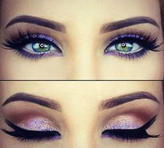 winged eyeliner | Tumblr