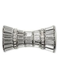 Sparkle bow brooch Banana Republic