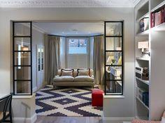 North Kensington Home - Stiff + Trevillion Room Divider Doors, Room Doors, Living Room Designs, Living Spaces, Piano Room, Up House, Home Decor Inspiration, Home Renovation, Home Furnishings