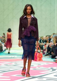 Burberry Prorsum Womenswear S/S15