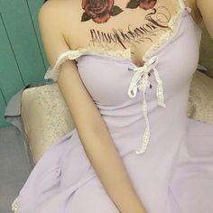 "Sweet bud silk condole belt dress Coupon code ""cutekawaii"" for 10% off"
