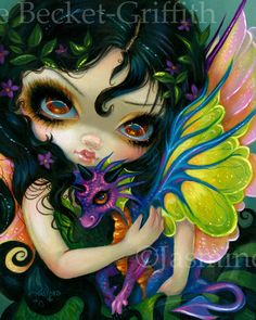 Fairy Fusion - Jasmine Becket-Griffith