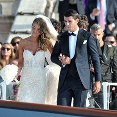 Football Player Alvaro Morata and Alice Campello's wedding in Venice