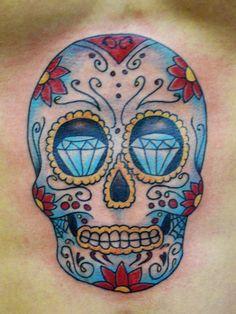 Significato del tattoo teschio messicano
